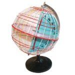 Glob – longitudinea și latitudinea