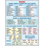 Nouns. Plural nouns of Latin & Greek origin / Rules of reading of vowels (1)