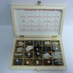 Set mostre de minerale (20tipuri)