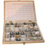 Roci și minerale (49tipuri)