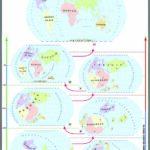 Evoluția continentelor și oceanelor / Relief major al continentelor și oceanelor