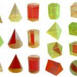Set de 17 figuri geometrice