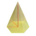 Piramidă hexagonală regulată