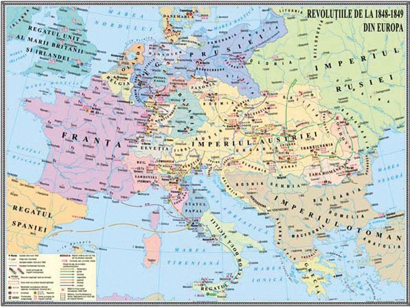 Revoluțiile De La 1848 1849 Din Europa Mold Didactica