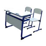 Bancă cu două scaune