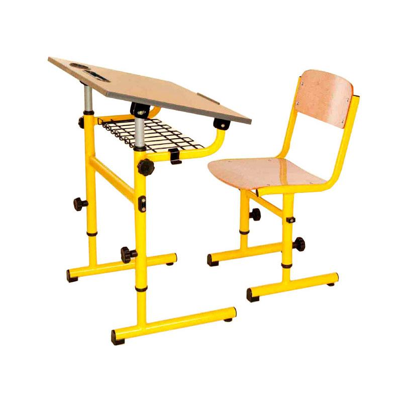 Bancă individuală ajustabilă cu un scaun